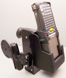 Molded Polypro Holster with RAM Mount for ForkLift, Vehicle or Wall Mounting of MC9000G