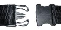 Heavy Duty Nylon Belt Easy Release Belt Clip