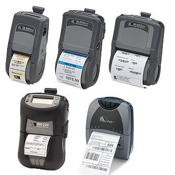 Zebra Mobile Printers QL RW P4T Series
