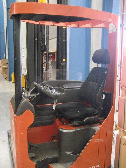 Take some photos of your forklifts. Contact the supplier to see if they have mounted mobile computers for other clients