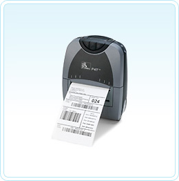 "Zebra P4T 104mm (4"") wide 203 dpi direct thermal/thermal transfer label printer"