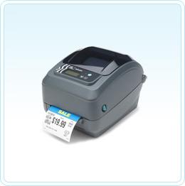 Zebra desktop thermal transfer and direct thermal label printers