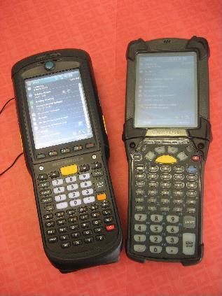 Motorola MC9500K vs Motorola MC9090K