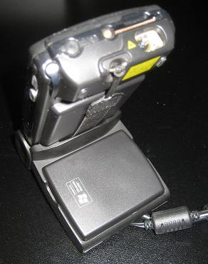 Motorola MC50 single slot cradle with a second spare battery slot