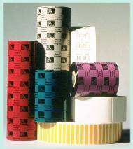 Ribbons for thermal transfer labels