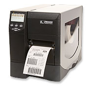 Zebra ZM400 thermal transfer label printer