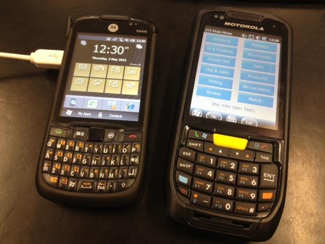 Motorola ES400 v Motorola MC45