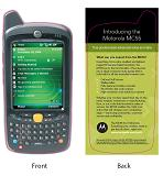 Motorola MC55 slick - print this out and cut out the MC55 to get an idea on its size