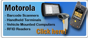 Motorola barcode scanners for sale from Barcode Datalink
